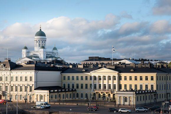 Helsingin kaupunki rakentaminen